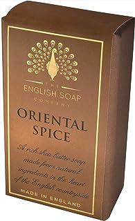 The English Soap Company, Pure Indulgence Oriental Spice, Vegan Shea Butter Soap, 200g