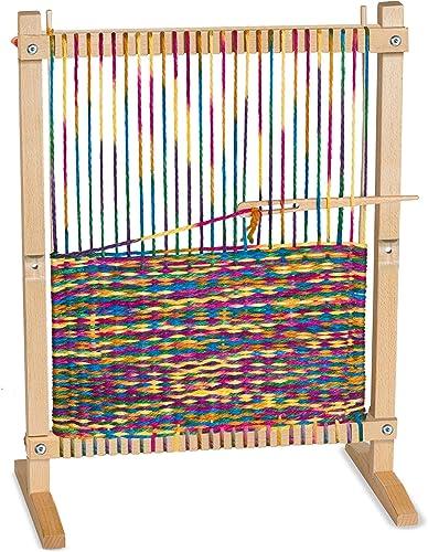 Melissa & Doug 19381 H erner Webrahmen Für Diverse Bastelarbeiten, Mehrfarbig