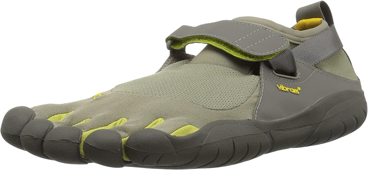 Vibram Womens Women's KSO Grey Palm Clay Cross Trainer