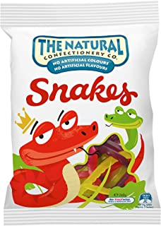 TNCC The Natural Confectionary Co. Snakes Jelly Candy, 260 gm