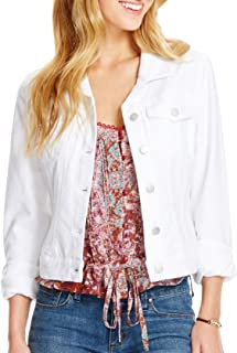 "Jessica Simpson Women's ""Pixie Coated Suede"" Jacket"