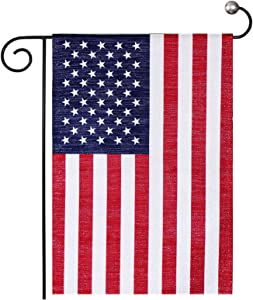 American USA Garden Flag 12x18 Double Sided Banner - Patriotic Decor Yard Flags for All Seasons - Small US Flag for Outdoor Lawn Patio
