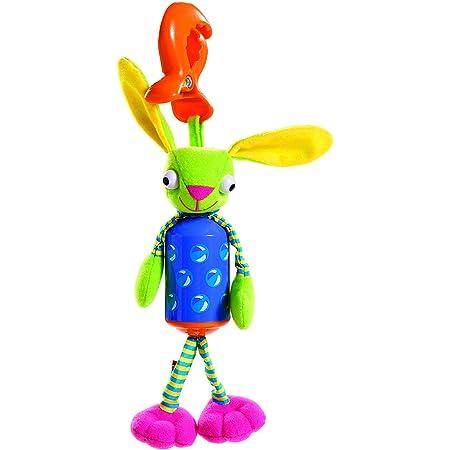 Tiny Love Wind Chime Baby Bunny Sonaglio Neonato, Gioco Sonoro Passeggino e Ovetto con Aggancio Universale, 0 Mesi +