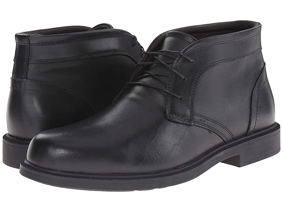 Dunham Johnson Chukka Waterproof (Black) Men