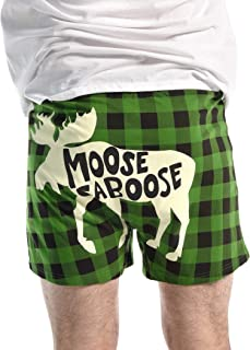 Soft Comical Boxers for Men by LazyOne | Animal Pun Joke Underwear for Guys