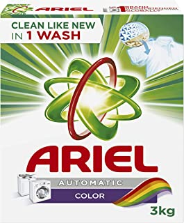 Ariel Automatic Powder Laundry Detergent, Color, 3 KG