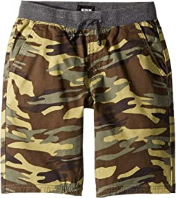 Campbell Shorts in Olive Camo (Big Kids)