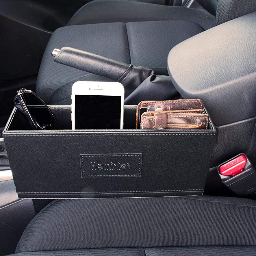 Car Seat Gap Filler Organizer - Premium Storage Box Between Front Seat and Console - Limited Edition