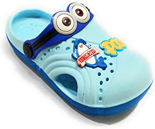 T. R. Traders Kids Cartoon Clogs Blue (for 6 Month - 4.5 Year)