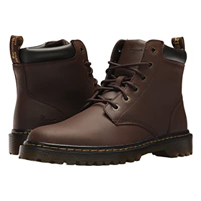 Dr. Martens Cartor (Dark Brown Crazy Horse Action) Men