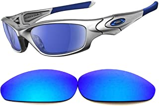 Galaxy lenses For Oakley Straight Jacket (2007) Polarized Blue Color
