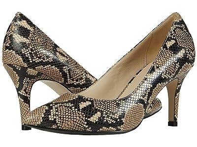 Cole Haan G.Os Juliana Pump 75 (Amphora Exotic Snake Print Leather) Women