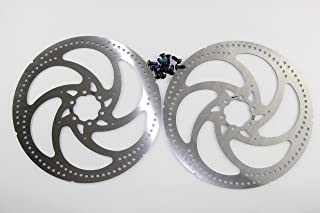 KINGSTOP JIM MTB Road Racing disc Brake Rotor 160mm/180mm/203mm (2 Pieces of rotors with 12bolts)