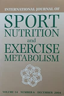 Best journal of sport nutrition and exercise metabolism Reviews