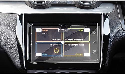 RUIYA 2018 Maruti Suzuki Swift Smart Play infotainment System Touch Screen Car Display Navigation Screen Protector, H...