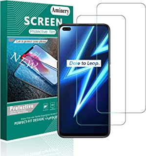 Easylifes Screen Protector for Oppo Realme 6 Pro Tempered Glass, Easy Bubble-Free Installation, 9H Hardness, friend case, ...