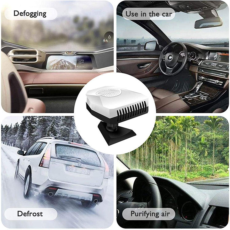 12V Auto Heizl/üfter 360 Grad Drehbar Auto Heizung Defroster Winter Innenraumheizung Auto Frontscheibe Autoheizungen