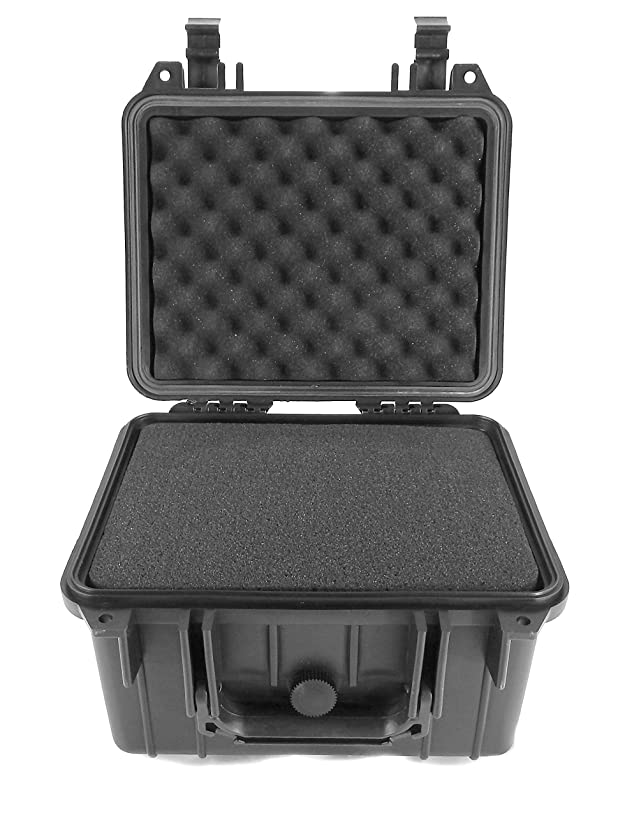 CASEMATIX Heavy Duty Customizable Waterproof Travel Storage Box - Works as Sphero BB-8 Droid Case or for Sphero 2.0 SPRK App Enabled Robotic Ball - Carry Robot, Charger, BB8 Dock and Accessories