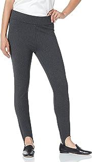 Lark & Ro Ponte Stirrup Legging Pantalones para Mujer