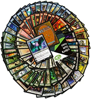 Magic The Gathering Card Game Rares Pack – Boost Your Decks with 101 Unique, Hard to Find Magic The Gathering Cards – 1 Planeswalker, 15 Red, 15 Blue, 15 Green, 15 Black, 15 White & 25 More MTG Rares