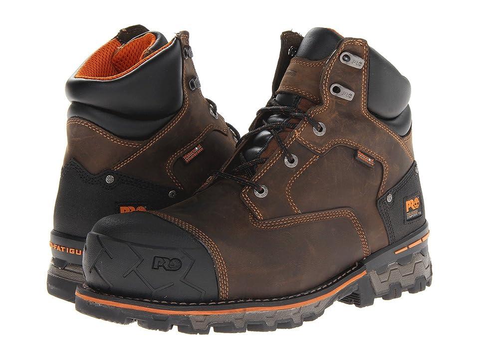 Timberland PRO Boondock WP 6 Comp Toe (Brown) Men