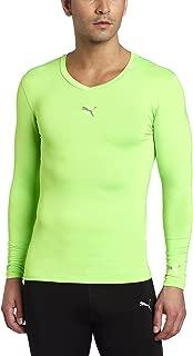 PUMA Men's Pb Lite Long Sleeve Compression V-Neck Tee