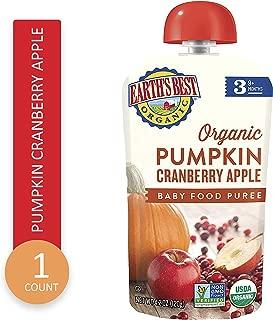 Earths Best Organic Pumpkin Cranberry