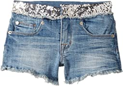 Glitz Shorts in Half & Half (Big Kids)