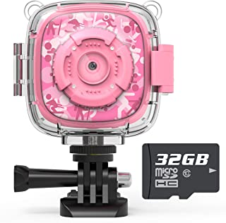 Kids Action Camera Waterproof Video Digital Children Cam 108