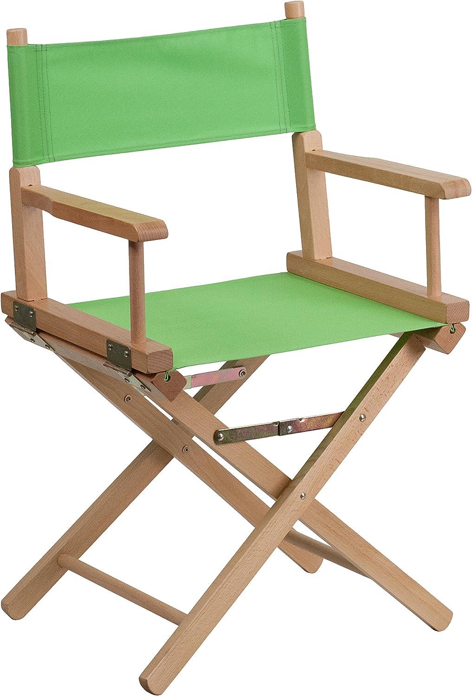 Flash Furniture Standard Height Directors Chair, Green