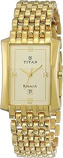 Regalia Analog Gold Dial Men's Watch -NK1927YM05