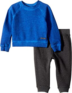 Hudson Kids - Two-Piece Sweatshirt w/ Jogger Pants Set (Infant)