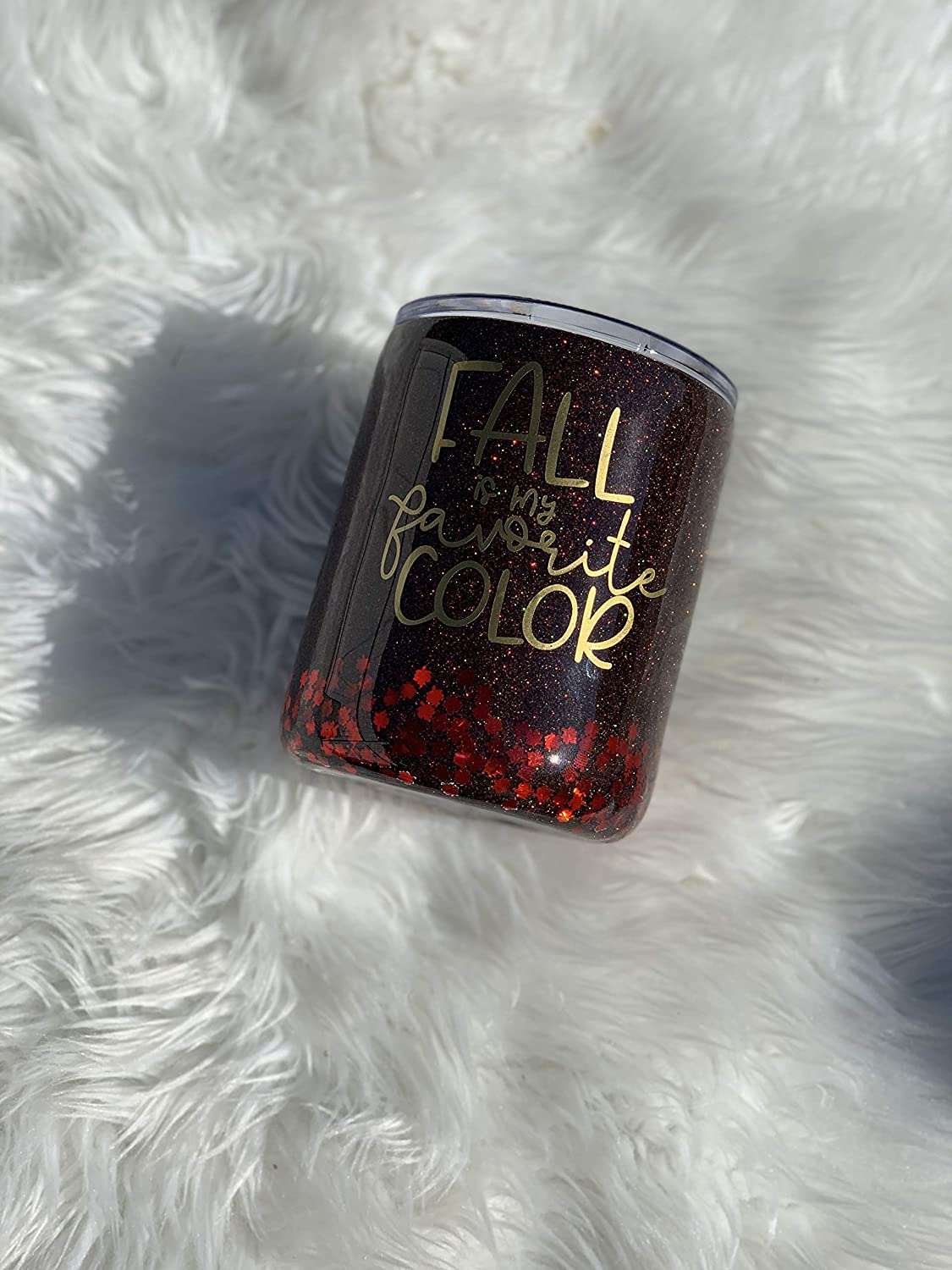 Fall New product Max 73% OFF type is my Favorite Color Tumbler Glitter