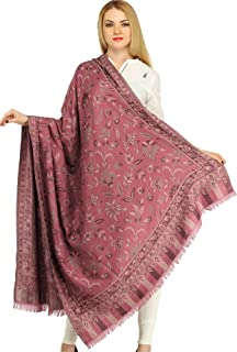 Exotic India Women's Wool Shawl