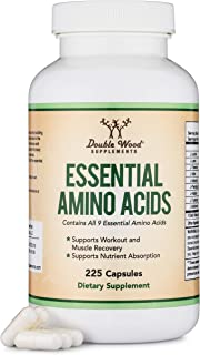 Sponsored Ad - Essential Amino Acids - 1 Gram Per Serving Powder Blend of All 9 Essential Aminos (EAA) and all Branched-Ch...
