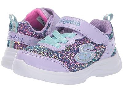 SKECHERS KIDS Glimmer Kicks 20267N (Toddler) (Lavender/Aqua) Girl