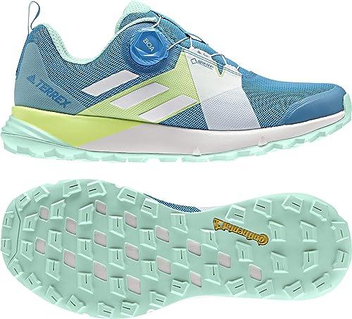 Adidas femmes Terrex Two Boa GTX Trail Running chaussures Running chaussures bleu - Mint 9