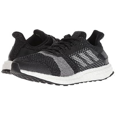 adidas Running UltraBOOST ST (Black/Silver Metallic/Carbon) Women