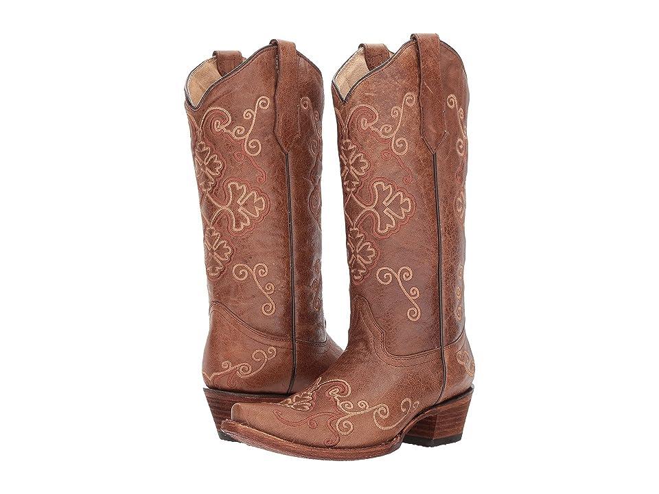 Corral Boots L5279 (Honey) Cowboy Boots