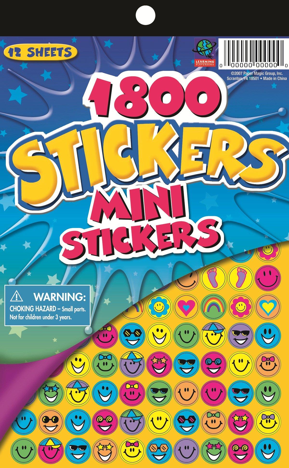 Eureka Mini Stickers Teachers Kids