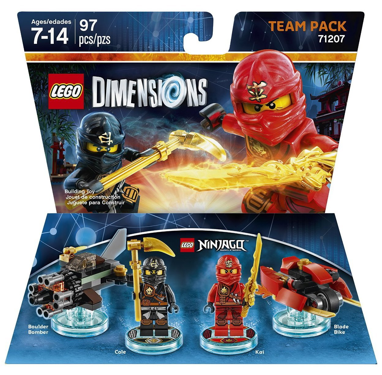 Ninjago Team Pack not machine specific