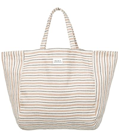 Roxy Time Is Now Tote Bag (Snow White) Handbags
