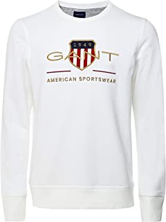 GANT Men's Archive Shield C-neck Sweatshirt