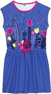Deux par Deux Girls Flamingo Print One-Piece Swimsuit Splish Splash Sizes 2-12