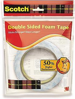 Scotch Double Sided Foam Tape (length 3m , width 24mm)
