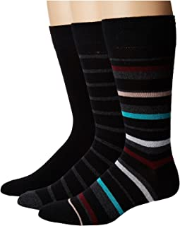 3-Pack Multi Stripes Crew
