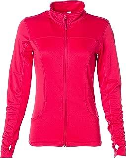 Women's Slim Fit Lightweight Full Zip Up Yoga Workout Jacket