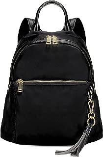 Scarleton Fashionable Nylon Backpack H201501 - Black