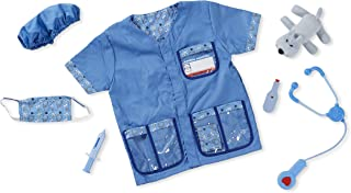 Melissa & Doug Veterinarian Role Play Costume Dress-Up Set (9 pcs)^Melissa & Doug Veterinarian Role Play Costume Dress-Up ...