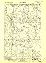 YellowMaps Lake Memphremagog VT topo map, 1:62500 Scale, 15 X 15 Minute, Historical, 1919, Updated 1920, 21.4 x 15.7 in